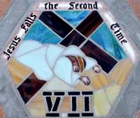 Station 7: Jesus falls under the Cross the second time